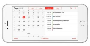 share calendar on iPhone 6